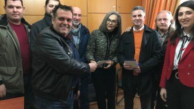 Σέρρες : Συνάντηση Σοφίας Σακοράφα με την ΟΕΒΕΣ