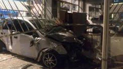 Δήμος Σερρών : ¨¨Μπούκαραν ¨¨ με αυτοκίνητο σε κατάστημα