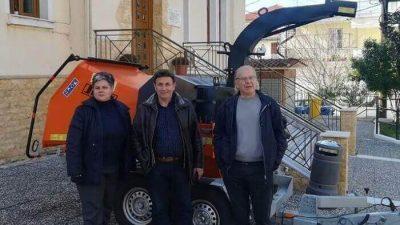 Δήμος Νέας Ζίχνης : Εμπλουτίζεται ο στόλος των μηχανημάτων