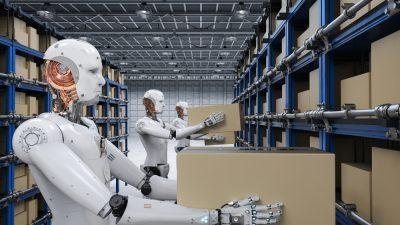 Πάνω από 1 εκατ. ρομπότ θα πιάσουν δουλειά μέσα στο 2020!