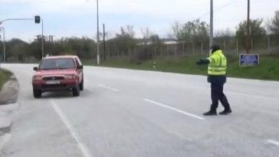 Σέρρες : 34 πρόστιμα για παραβίαση του περιορισμού κυκλοφορίας