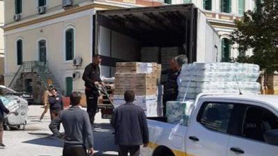 Π.Ε Σερρών : Παραλαβή υλικών προστασίας των εργαζομένων