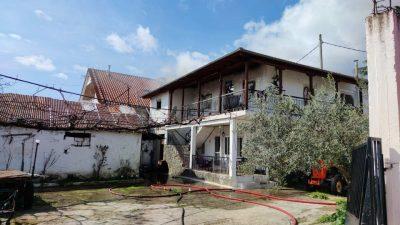 Δήμος Σιντικής : Στις φλόγες διώροφη κατοικία στο Νέο Πετρίτσι