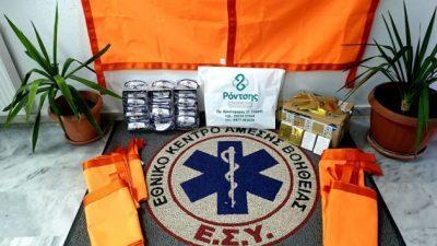 ΟΕΒΕΣ Σερρών :  Παραδόθηκε ο εξοπλισμός στο ΕΚΑΒ