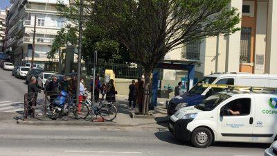 Σέρρες : Ατέλειωτος ¨¨συνωστισμός ¨¨ στις τράπεζες