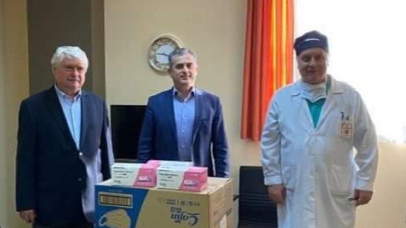 ΠΕ Σερρών : Δωρεά 7000 μασκών στο νοσοκομείο