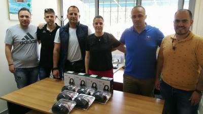 Σέρρες : Δωρεά στο Γραφείο Εκπαίδευσης της Διεύθυνσης Αστυνομίας