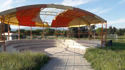 Δήμος Σερρών : ¨¨Ζούγκλα ¨¨ το πάρκο κυκλοφοριακής αγωγής ( φωτο )