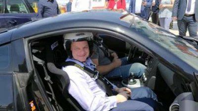 Αυτοκινητοδρόμιο Σερρών : Το test drive του Κώστα Καραμανλή
