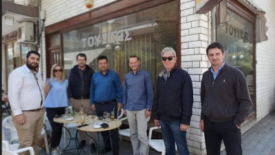 Δήμος Ηράκλειας : Περιοδεία Παπαστεργίου