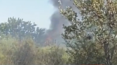 Δήμος Σιντικής : Φωτιά σε δασική περιοχή  στα Άνω Πορρόια