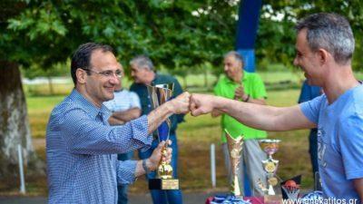 Σέρρες : Ολοκληρώθηκε το τουρνουα παλαιμάχων
