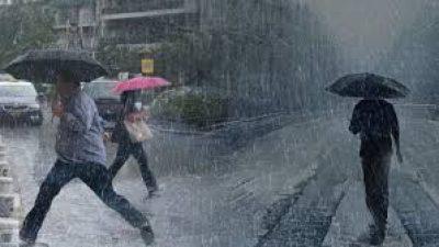 Έκτακτο δελτίο ΕΜΥ: Βροχές και καταιγίδες