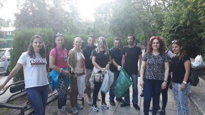 Σέρρες : Μαθητές και εκπαιδευτικοί του Σ.Δ. Ε καθάρισαν την κοιλάδα Αγίων Αναργύρων