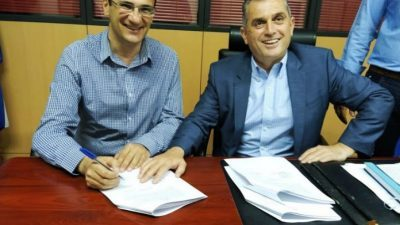 ΔΕΥΑΣ Σερρών : Υπογραφη έργου για τοποθέτηση έξυπνων υδρομέτρων