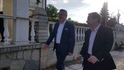 Δήμος Αμφίπολης : Το ευχαριστώ του Στέργιου Φράστανλη στον Κώστα Καραμανλή
