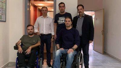 Συλ.κιν.αναπ Ν.σερρων : Λύση μετά από 5 χρόνια με τον ανελκυστήρα του 2ου ΕΠΑΛ