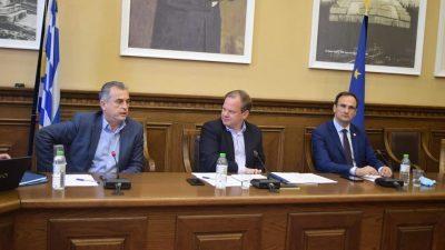 ΠΕ Σερρών : Σύσκεψη Σπυρόπουλου- Καραμανλή -δημάρχων για την σχολική στέγη