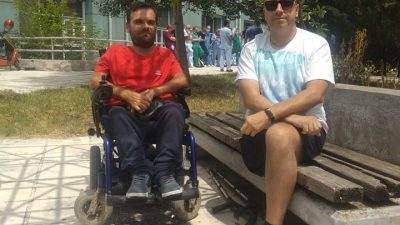 Σέρρες : Ο σύλλογος κινητικά αναπήρων στην κινητοποίηση των ιατρών του νοσοκομείου