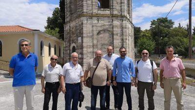 Δήμος Νέας Ζίχνης : Αναστυλώνεται το καμπαναριό στον Ι.Ν Αλιστράτης