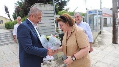 Δήμος Αμφίπολης : Συνάντηση Φράστανλη -Μενδώνη