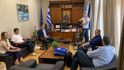 Δήμος Σερρών : Συνάντηση Χρυσάφη – Γιαννούλη