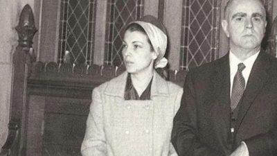 """""""Έφυγε"""" η πρώην σύζυγος του Κωνσταντίνου Καραμανλή Αμαλία Μεγαπάνου"""