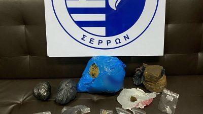Επιτυχία των Σερραίων Αστυνομικών στην μάχη κατά των ναρκωτικών