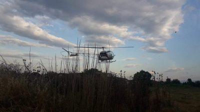 Π.Ε Σερρών : Σε εξέλιξη οι αεροψεκασμοί για τα κουνούπια