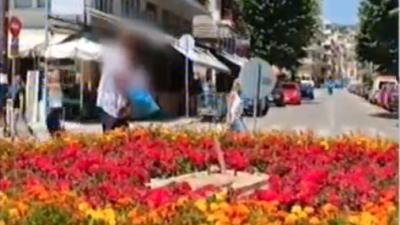 Σέρρες : Η Βαία ¨¨συνέλαβε ¨¨ την κλέφτρα  λουλουδιών