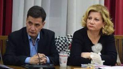 Σέρρες : Συνέντευξη τύπου Δεσποτίδη -Παλάζη
