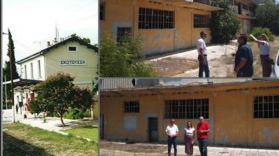 ΜεΡΑ 25 Σερρών : Άμεση αφαίρεση αμιάντου από εγκαταλειμμένο εργοστάσιο στη Σκοτούσσα