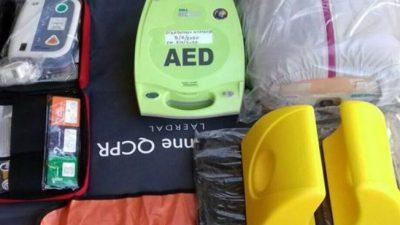 Κώστας Καραμανλής :Εξοπλισμός της εθελοντικής ομάδος  ΕΠΟΜΕΑ Σιντικής