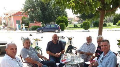 ΜέΡΑ 25 Σερρών : Κλιμάκιο του κόμματος στο Κωνσταντινάτο