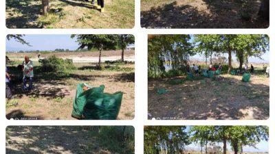 Δήμος Σερρών : Εθελοντικός καθαρισμός της λίμνης στον Λευκώνα