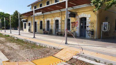 Σέρρες : Ράμπα ΑμεΑ στον σιδηροδρομικό σταθμό