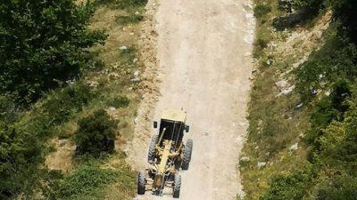 Δήμος Σερρών : Παρεμβάσεις στο οδικό δίκτυο του Λευκώνα ( φώτο )