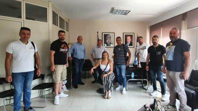 Σέρρες : Συνάντηση  Καραμανλή με  αντιπροσωπεία της Ένωσης Καταστημάτων Αναψυχής και Εστίασης