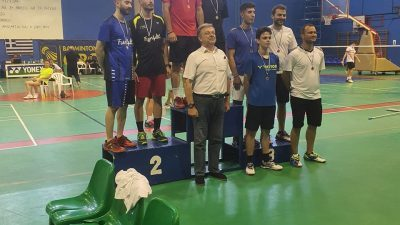 Δήμος Σιντικής :Ολοκληρώθηκαν οι αγώνες για το πανελλήνιο πρωτάθλημα BADMINTON 2020 , Ανδρών- Γυναικών, U 17 και U 11.