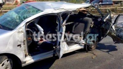 Δήμος Σιντικής : 63χρονος έπεσε με το αυτοκίνητο του σε δέντρο και σκοτώθηκε
