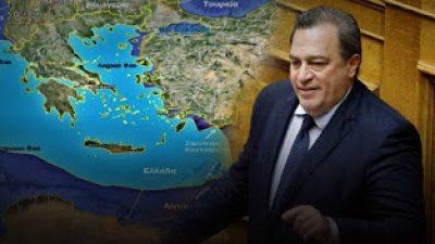 Ο Ε.Στυλιανίδης ζητά 12 μίλια και οριοθέτηση ΑΟΖ