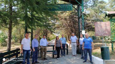 Δήμος Νέας Ζίχνης : Στο σπήλαιο Αλιστράτης η διευθύντρια του πρωθυπουργικού γραφείου Θεσσαλονίκης