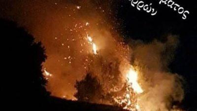 Δήμος Εμμανουήλ Παππά : Φωτιά στο Γυμνάσιο του Αγίου Πνεύματος