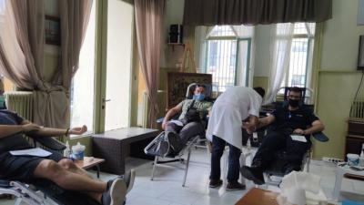 70 φιάλες αίμα από τους Σερραίους Αστυνομικούς