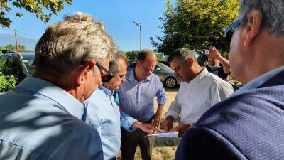 Π.Ε Σερρών : Σπυρόπουλος – Καραμανλής στο Ανατολικό  Ανάχωμα της Λίμνης Κερκίνης