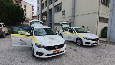 Δήμος Σιντικής : Παραλαβή δύο οχημάτων για το βοήθεια στο σπίτι