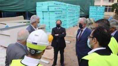 Κώστας Καραμανλής : Με τον πρόεδρο της βουλής στην νέα μονάδα ΜΕΘ του νοσοκομείου Σωτηρία