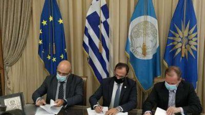Δήμος Σερρών : Υπογραφή προγραμματικής σύμβασης με την ΕΓΝΑΤΙΑ ΑΕ
