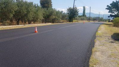 Π.Ε Σερρών : Συνεχίζονται οι ασφαλτοστρώσεις στο οδικό δίκτυο