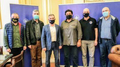 Π.Ε Σερρών : Συνάντηση Σπυρόπουλου με το σωματείο Διπλωματούχων Μηχανολόγων Ηλεκτρολόγων Μηχανικών
